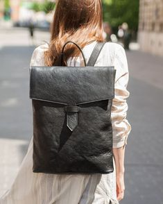 gorzkowicz Backpackleather by Leather Backpack, Leather Bag, Krakow, Rough Cut, Slow Fashion, Girls Out, Leather Craft, Luxury Lifestyle, Fashion Backpack