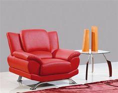 Global Furniture Chair GL-U9908-RD-CH