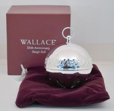17% Off was $35.00, now is $29.00! Wallace Silver 2005 Annual Sleigh Bell