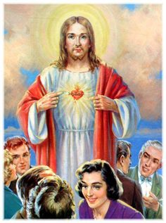 """7ª Promessa: """"Os pecadores encontrarão em meu Coração fonte inesgotável de misericórdias""""."""