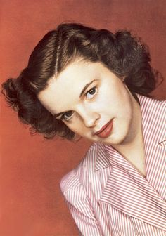 Judy Garland in the 1940s
