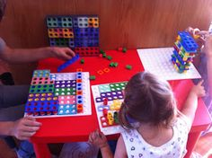 Down Syndrome - Up Up Up and Away!: Numicon Math