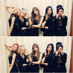 Solji, LE, Hani, Hyelin, Jeonghwa (EXID : Ah Yeah on Stage)