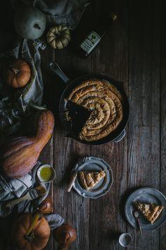 Winter Squash Filo Spiral by Eva Kosmas Flores | Adventures in Cooking