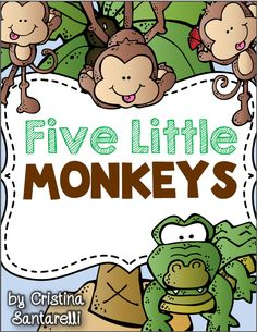 5 Little Monkeys FREEBIE!