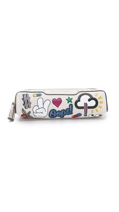 Anya Hindmarch Pens & Pencils Allover Stickers Pouch