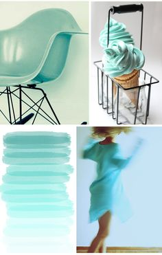 Pepper and Buttons: {colour board} Summer Blue