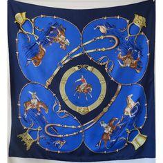 4b4c101049e2 hermès sciarpa pampa, 1988, seidetuch, foulard en soie hermès, carré hermès  pampa, Jean de Fougerolles, vintage accessories