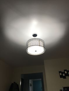 New light fixture from Lowes, Portfolio Eyerly!!!