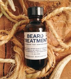 Natural Beard Treatment | Men's Grooming | Manready Mercantile | Scoutmob Shoppe | Product Detail