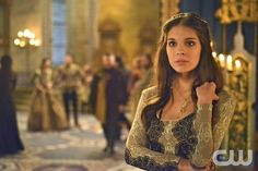 """#13. Caitlin Stasey as Baroness/Lady Kenna in the American series """"Reign"""" (2013-2015) - Gorgeousness Level: Reigning BAMF   The CW   24 July 2014"""