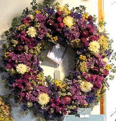 Willow Oak Flower & Herb Farm Herb Farm, Summer Wreath, Flower Delivery, Herbalism, Floral Wreath, Herbs, Fancy, Wreaths, Garden