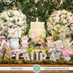 Bom dia! Vocês já viram no blog a festa linda de 1 aninho da Laura? O tema escolhido foi #jardim  A decoração é da @misssugarfestas e o bolo @sweetcarolinatheartofcake: www.babieskids.cz