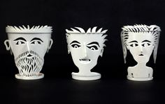 "Mark Swidler, ""30 Styrofoam Cups,""  1990s. Private Collection. Photo by Jill Fannon."