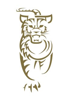 Tiger Beer-Team Tiger Logo Design by Trevor Lim, via Behance