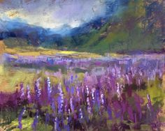 Painting Iceland Trip Report Day 4, painting by artist Karen Margulis