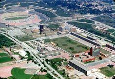 Vista aérea de Ciudad Universitaria  Año de 1953.