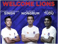 Talented trio to fortify the Delhi Dynamos squad for the upcoming #HeroISL Season! #LetsFootball