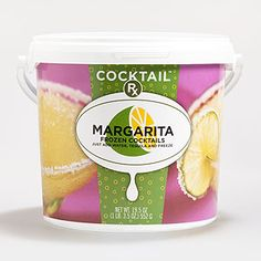 Our favorite Key Lime Margarita Mix, newly renamed Cocktail Rx...is just what the doctore ordered!  The freezer calls to us late at night!