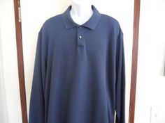 Geoffrey Beene Mens Big and Tall New Sweater Size 3XL Bluie  #GeoffreyBeene #Sweater