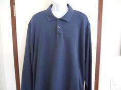 Geoffrey Beene Mens Big and Tall New Sweater Size 3XL Bluie  #GeoffreyBeene #Sweater