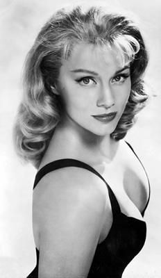 Linda Christian, Tyrone Power's wife and 1st Bond's girl. Christian starred as Vesper Lynd, James Bond's romantic interest, in the 1954 TV adaptation of Casino Royale, with Barry Nelson as 007