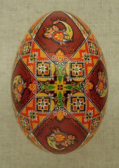 Pysanka Pysanky from Ukraine Goose Easter Egg by by PysankaFolkArt, $58.00