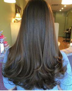 super ideas for hair long peinados cabello largo Haircuts Straight Hair, Long Hair Cuts, Medium Hair Styles, Curly Hair Styles, Twisted Hair, Layered Hair, Gorgeous Hair, Amazing Hair, Hair Highlights