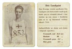 Eric Lundquist Sverige friidrett spydkast