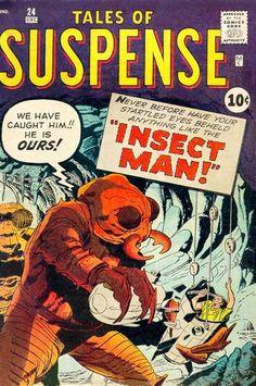 Tales of Suspense Issue # 1 (Marvel Comics) Sci Fi Comics, Fantasy Comics, Old Comics, Horror Comics, Marvel Comic Books, Comic Books Art, Vintage Comic Books, Vintage Comics, Captain America