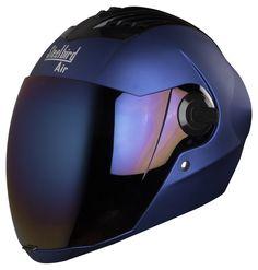 """STEELBIRD > """"Air SBA-2"""" Matt Yamaha Blue Helmet"""