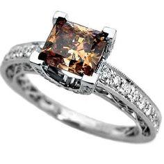 engagement rings cute chocolate ring 236x236 - Chocolate Wedding Rings