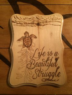 A personal favorite from my Etsy shop https://www.etsy.com/listing/255272015/cute-wood-picture-wood-burned-with-a