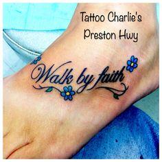 Believe infinity cross tattoo i designed love it for Faith cancer tattoos