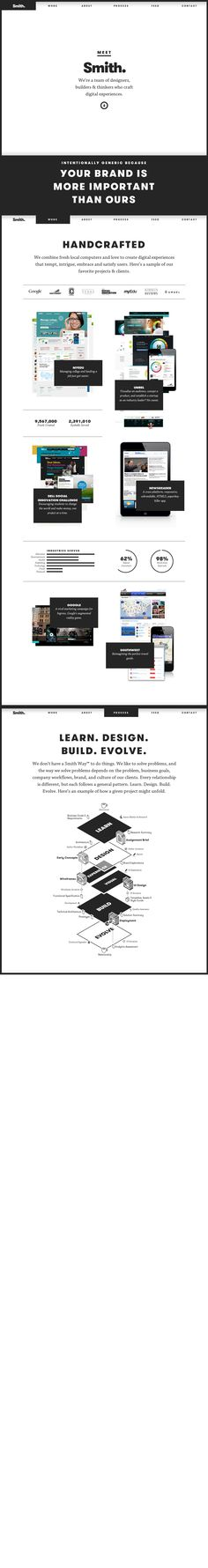 WebDesign Just Smith #CSS3 #HTML5