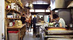 E5 Bakery East London London Fields, East London, Bakery, Garage, Kitchen, Food, Carport Garage, Cooking, Kitchens
