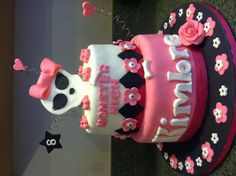 Kimbre's 8th Birthday cake! ~Monster High