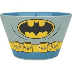 Cassic Batman Costume Bowl Ceramic Cereal Soup Sweets Bowl Christmas Gift #DCComincsOfficiallyLicensed #BatmanThemed  #Cassic #BatmanCostume #Bowl #Ceramic #Cereal #Soup #Sweets #Bowl #Christmas #Gift #BatmanThemed #VINTAGE #DCCOMICS