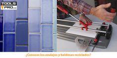 ¡Las cortadoras de azulejos cortarán baldosas recicladas!