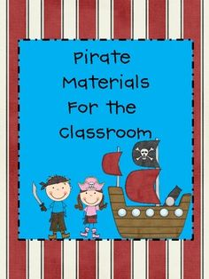 Pirate Materials for the Classroom{$5}