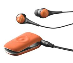 Jabra CLIPPER Bluetooth Stereo Headset - Retail Packaging - Tangerine Tango. Also available in other colors. List Price: $59.99 Buy New: $53.90