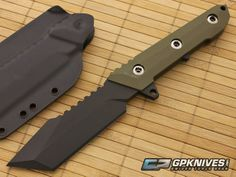 Nocturnal Knives T.A.G.-1 Tanto Green G10