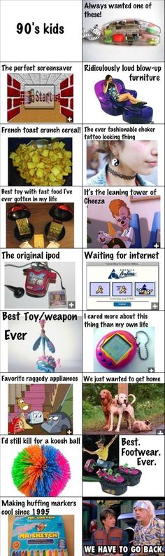 This was my childhood!!! Every single one!