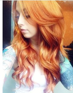 Candice Alice has perfect ginger hair, can mine be this long already x