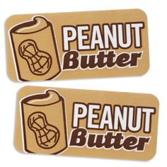 Peanut Butter Bakery Labels - Layer Cake Shop