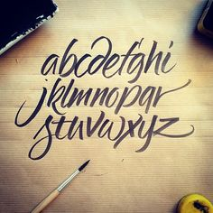 ::: ✌ Calligraphy and Lettering ✍ Sketches ::: on Behance