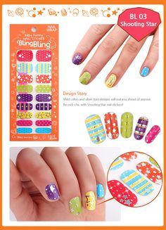 $7 #nails #nailart #nailsticker #nailwrap #diy Y.E.T