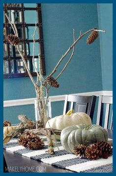 Au Naturel Free Fall Decorating Ideas from Your Backyard & Au Naturel: Free Fall Decorating Ideas from Your Backyard | Free ...