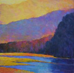 Ken Elliott art at Saks Galleries