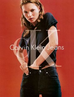 Kate Moss x Calvin Klein Jeans